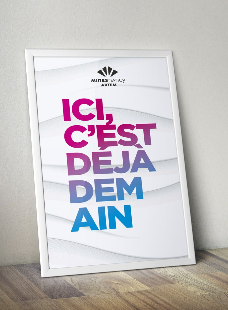 Visuel poster et stand