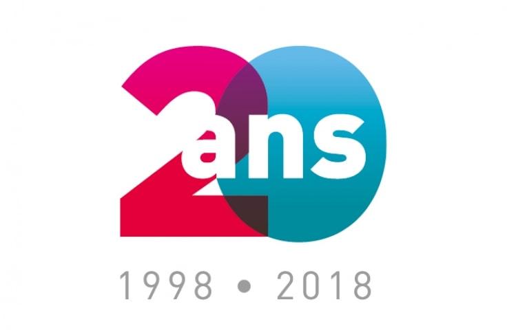 Ubdesign Détail Du Projet Dr Fyad Logo Et Label Anniversaire 20 Ans